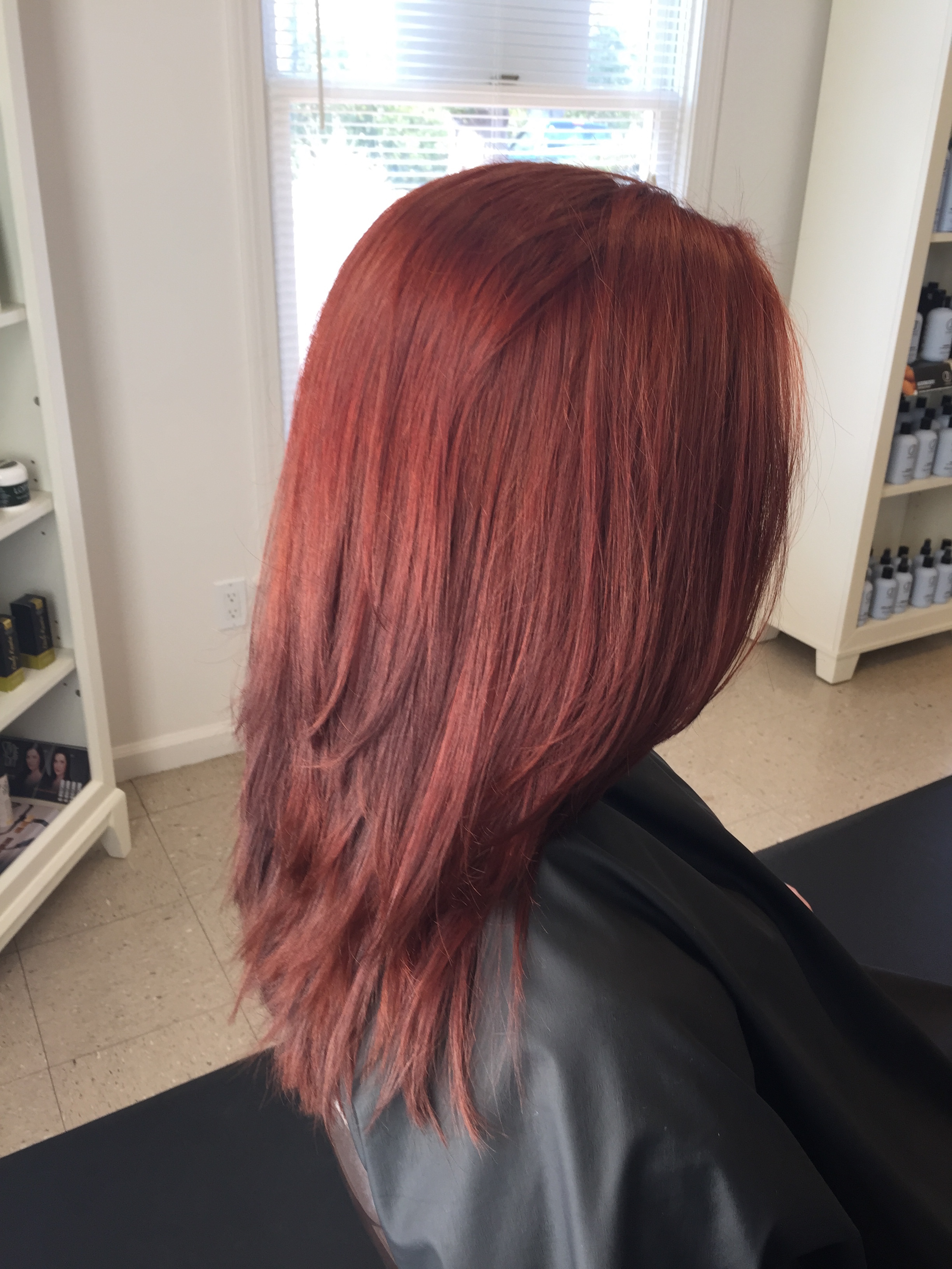 womens hair color red Guilford CT