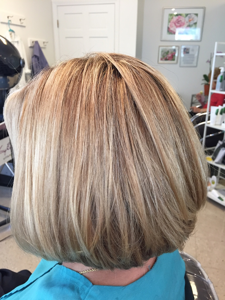 Womens haircut and color Guilford CT
